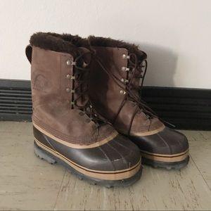 SOREL Dominator Leather Winter Boot SZ 5